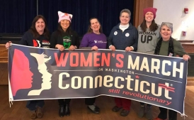 Beth Kerrigan and the Women's March