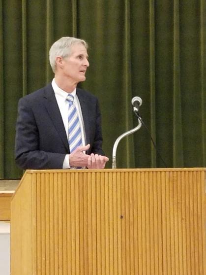Owen Egan - Democratic Judge of Probate addresses the WHDTC