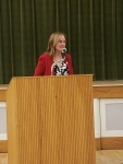 Denise Merrill - running for Secretary of State for the Democrats visits the WHDTC