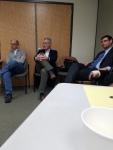State Representative (D19) Derek Slap and the District 9 WHDTC Democrats
