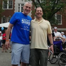 State Representative Andy Fleischmann and State Representative Derek Slapp at Celebrate! West Hartford 2018